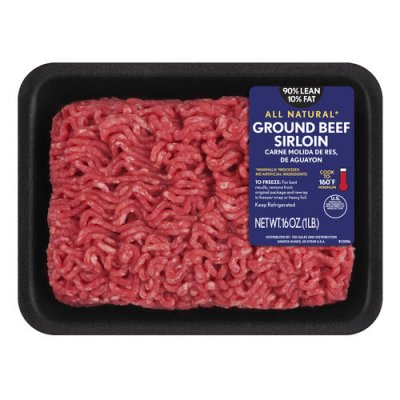 Ground Beef, 90/10 Lean Fresh