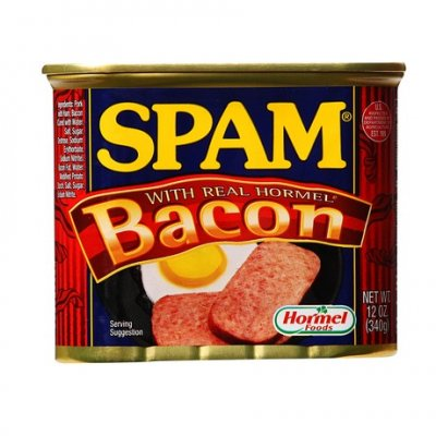 Spam, with Real Hormel Bacon