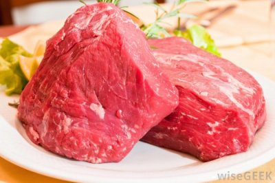 Game meat, bison, chuck, shoulder clod, separable lean only, 3-5 lb roast, cooked, braised