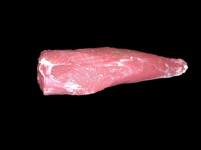 Beef, chuck, mock tender steak, boneless, separable lean only, trimmed to 0