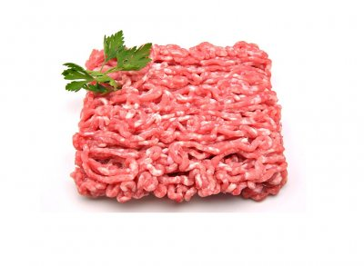 Beef patty, hamburger, 95% lean meat / 5% fat