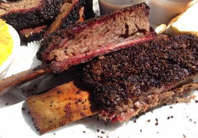 Beef, rib, small end (ribs 10-12), separable lean only, trimmed to 0