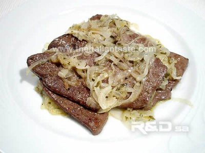 Veal, variety meats and by-products, brain, cooked, pan-fried