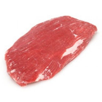 Beef, flank, steak, separable lean and fat, trimmed to 0