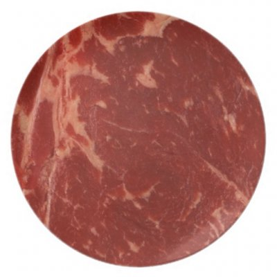 Beef, plate steak, boneless, outside skirt, separable lean only, trimmed to 0