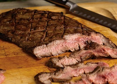 Flank Steak, Prepared