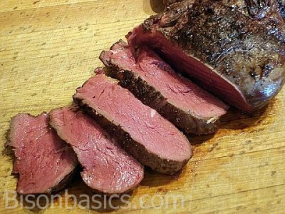 Steak, Tenderloin Roast, Prepared