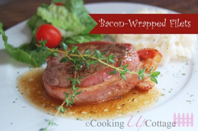 Bacon Wrapped Beef Filets