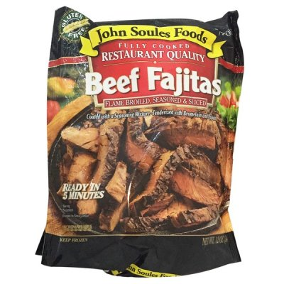 Fully Cooked Restaurant Quality Beef Fajitas