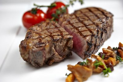 Sirloin Steak, Prepared