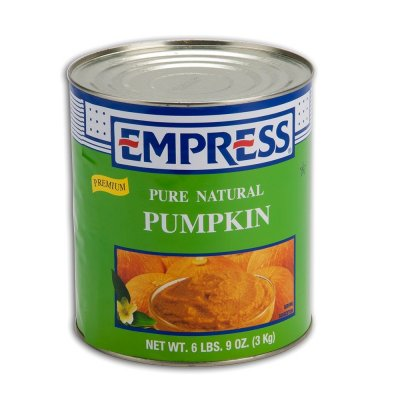 100% Pure Pumpkin, Canned