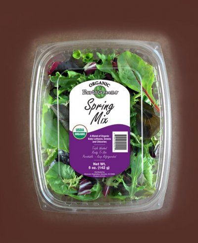 Seasonal Blend of Mixed Greens, Spring Mix