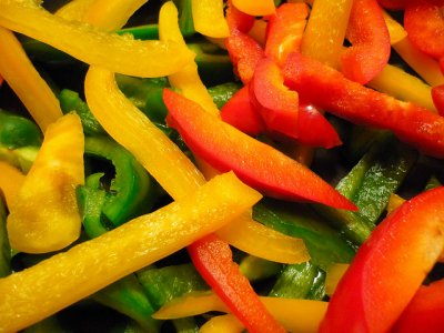 Tri Color Peppers