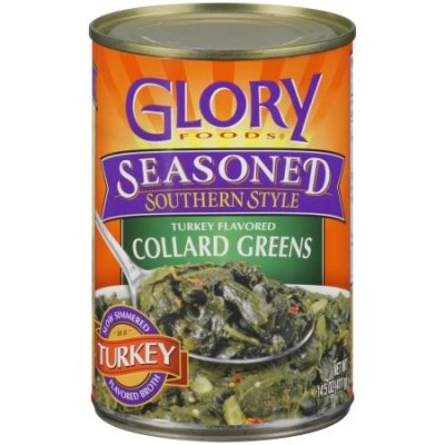 Turnip Greens, Turkey Flavored, Seasoned Southern Style