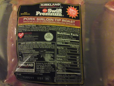 Swift Premium, Pork Sirloin Tip Roast