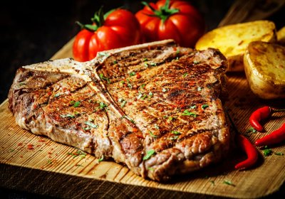 T-Bone Steak, Prepared
