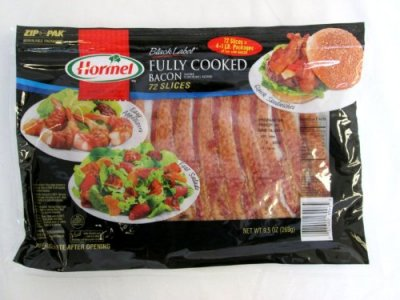 All Natural Fully Cooked Bacon Slices