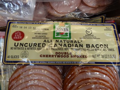 All Natural Uncured Canadian Bacon
