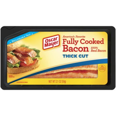 Fully Cooked Thick Cut Bacon