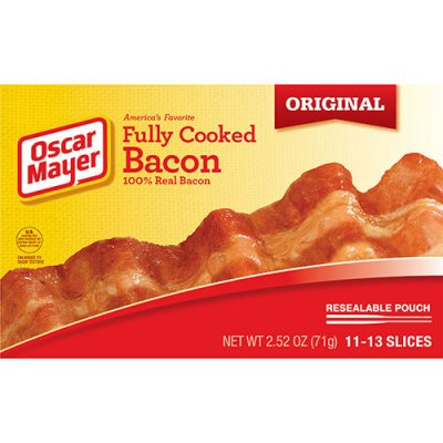 Fully Cooked Bacom (100% Real Bacon)