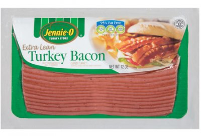 Turkey Bacon, Extra Lean