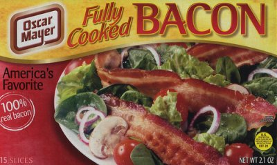 Bacon, Fully Cooked