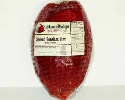 Smoke Ham With Natural Juices