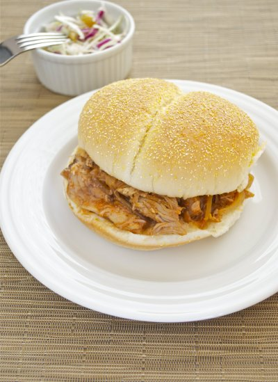 Pulled Pork in Smoky BBQ Sauce