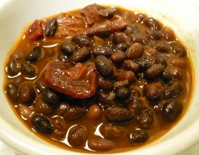 Beans, black turtle, mature seeds, raw