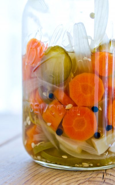 Carrots, in Escabeche
