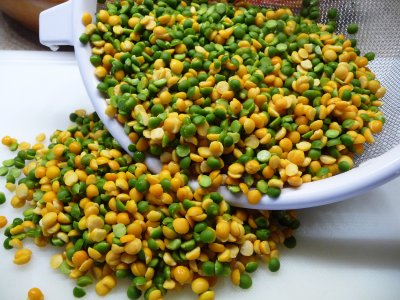 Split Peas, Yellow