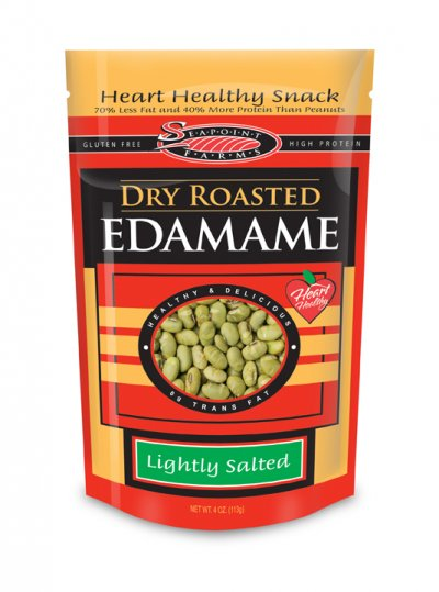 Dry Roasted Edamame, Lightly Salted