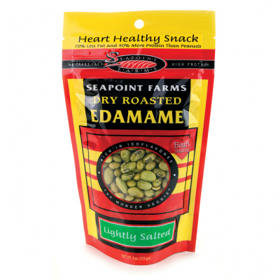 Lightly Salted Dry Roasted Edamame