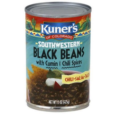 Black Beans, Southwestern, with Cumin & Chili Spices