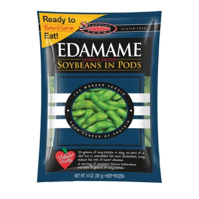 Edamame, Lightly Salted, Soybeans in Pods