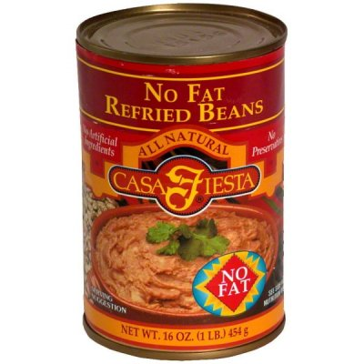No Fat Refried Beans