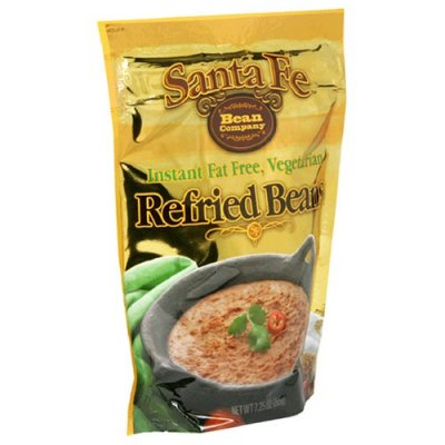 Refried Beans, Instant Fat Free, Black