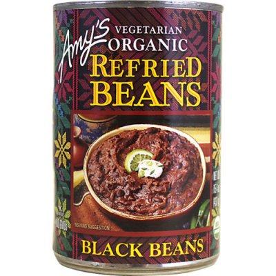 Refried Beans, Vegetarian Organic, Traditional