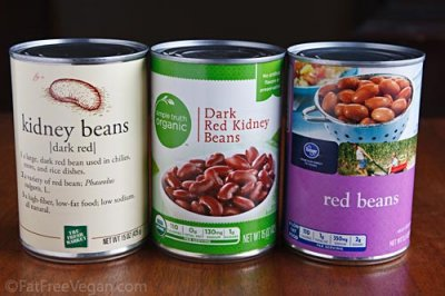 Light Red Kidney Beans, Fat Free