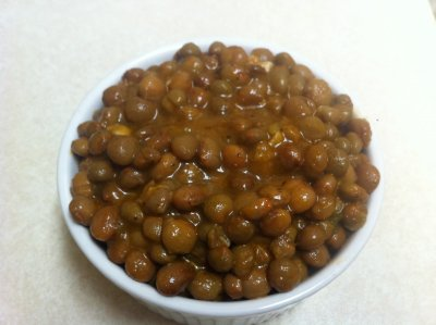 Green Pigeon Peas with Coconut