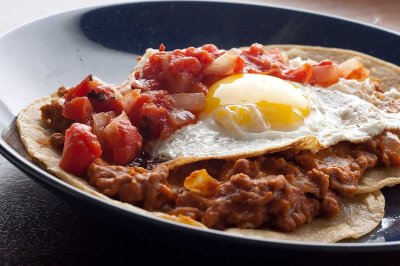Refried Beans, Vegetarian