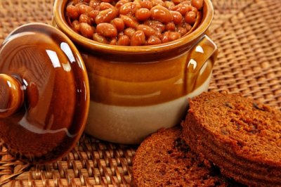 Baked Beans, Boston's Best, Extra Molasses and Brown Sugar