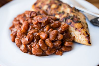 Baked Beans, Smoky Bourbon