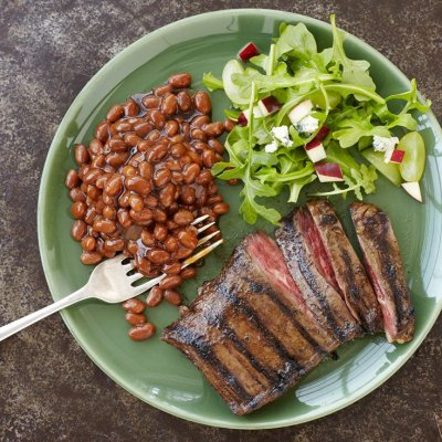 Grillin' Beans, Steakhouse Recipe
