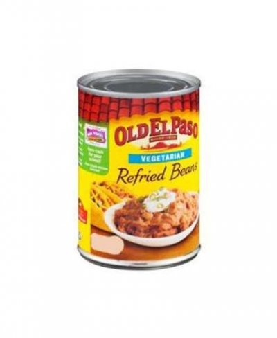 Refried Beans, Canned, Vegetarian