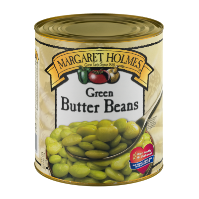 Seasoned Medium Green Lima Beans