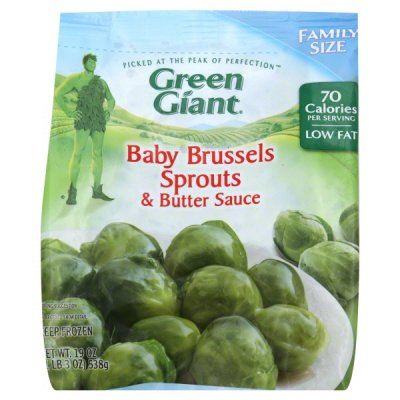 Baby Brussels Sprouts & Butter Sauce, Family Size