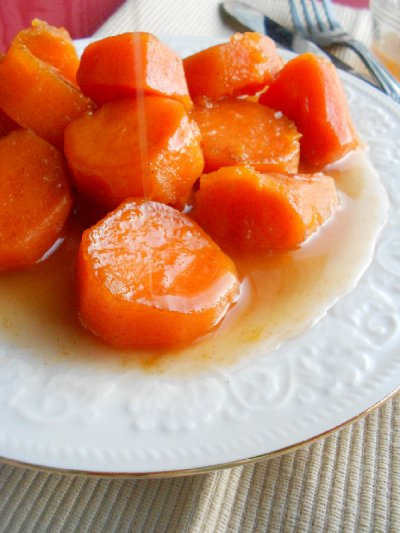 Candied Yams in Kettle Simmered Syrup