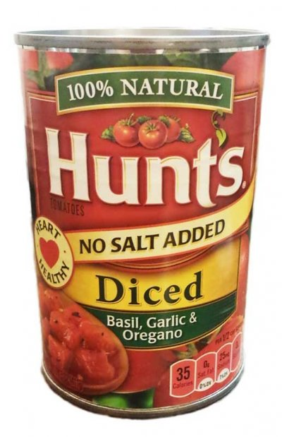 Diced Tomatoes - No Salt Added 100% Natural