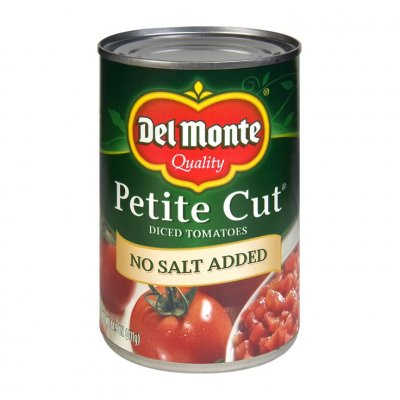 No Salt Added, Petite Diced Tomatoes